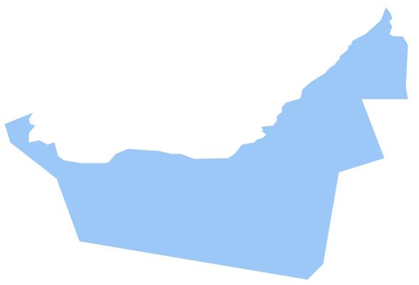 Geo Map - Asia - United Arab Emirates