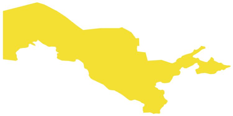 Geo Map - Asia - Uzbekistan