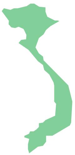 Geo Map - Asia - Vietnam