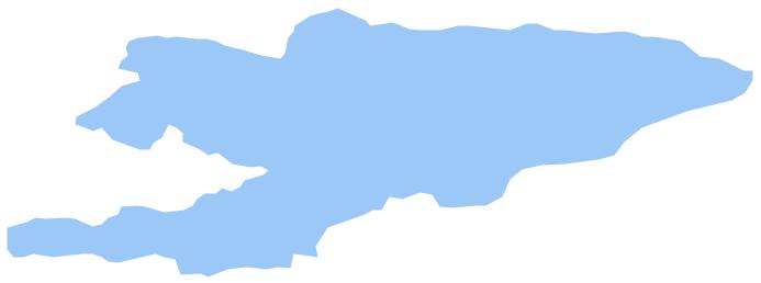 Geo Map - Asia - Kyrgyzstan