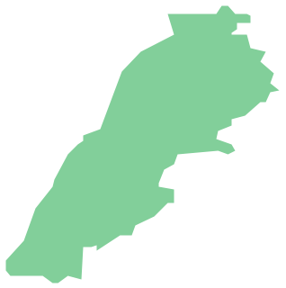 Geo Map - Asia - Lebanon