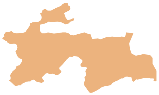 Geo Map - Asia - Tajikistan