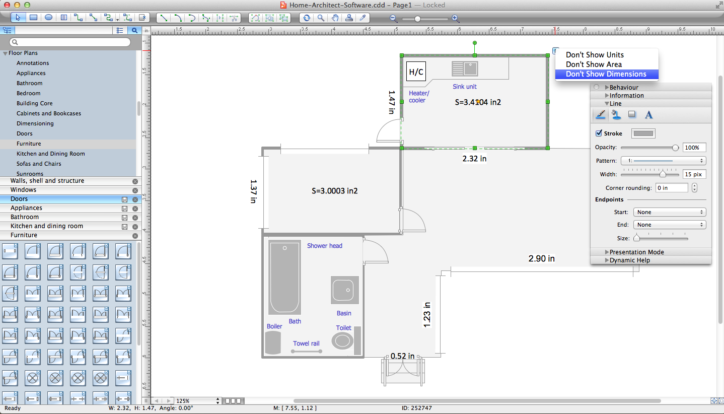 Home Architect Software. <br>Home Plan Examples *