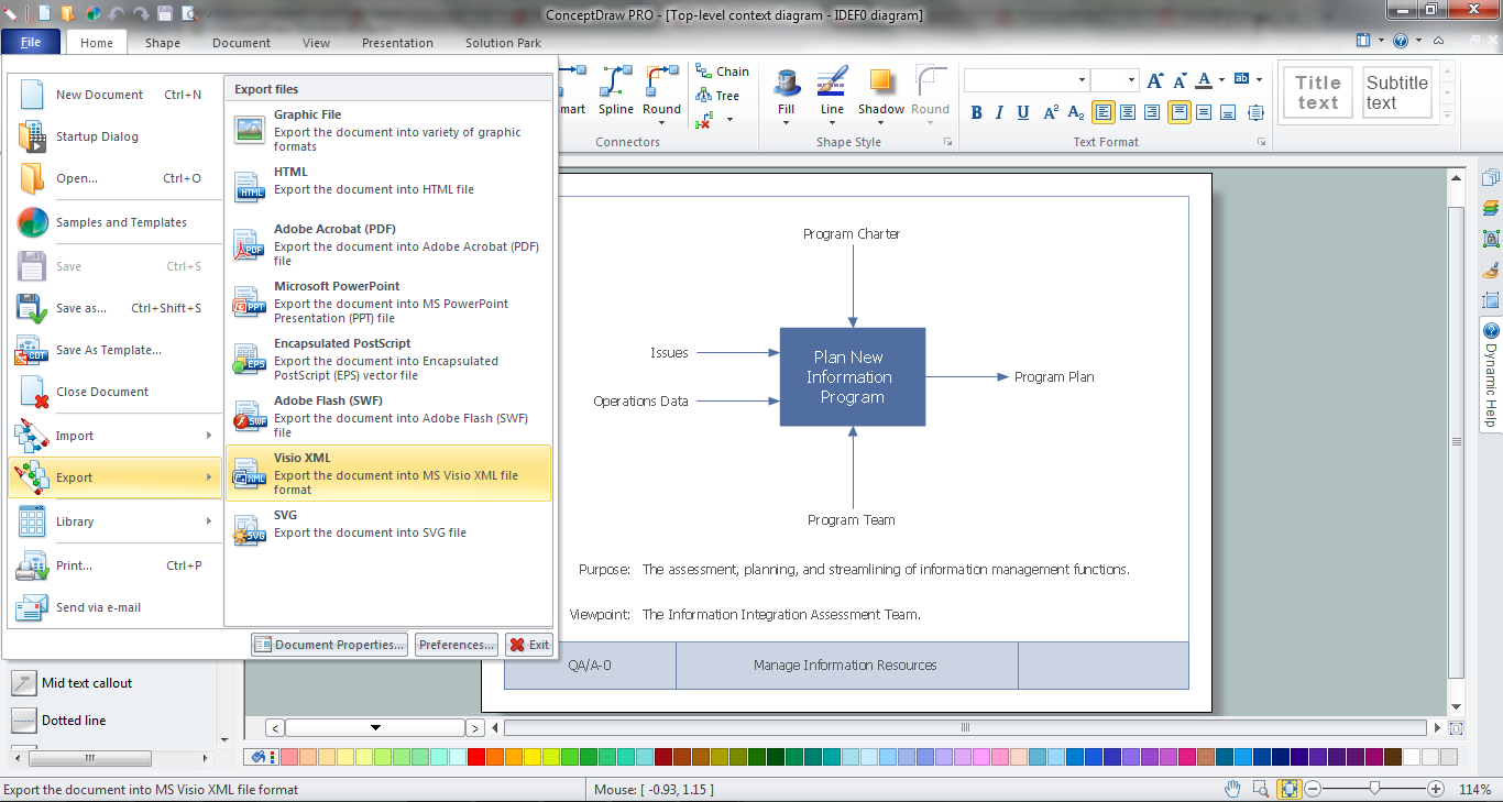 Uml diagram visio diagram v12 idef0 visio ccuart Gallery