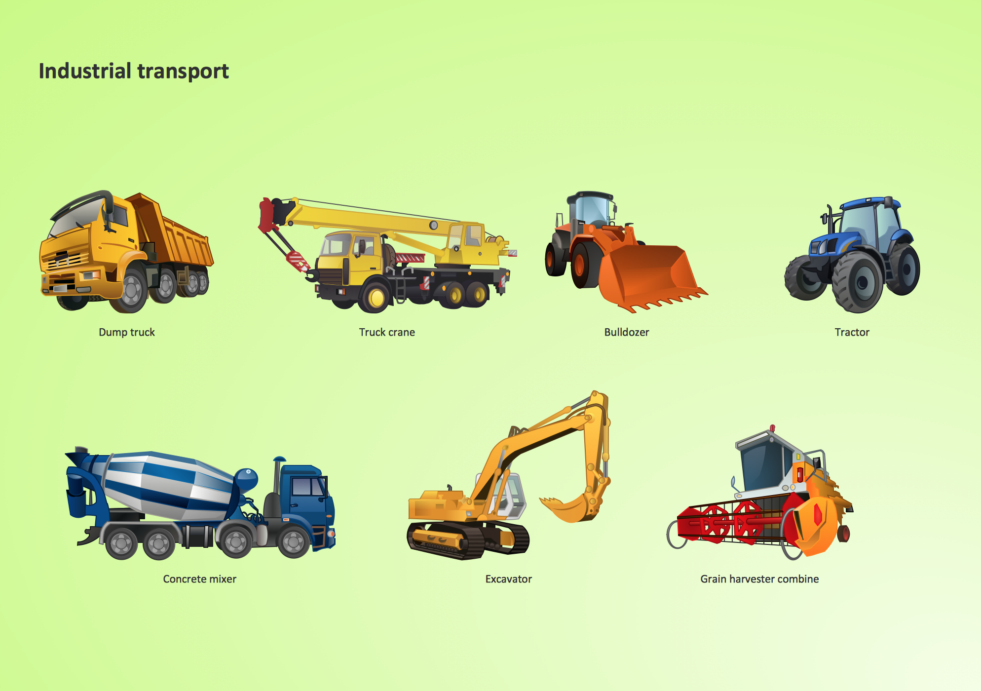 Industrial transport - Design elements *