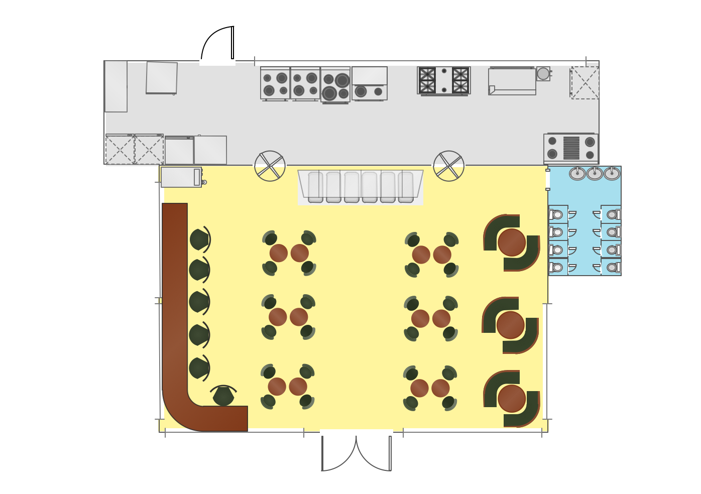 There is always a chance to create any needed interior design plan with the help of conceptdraw diagram drawing application