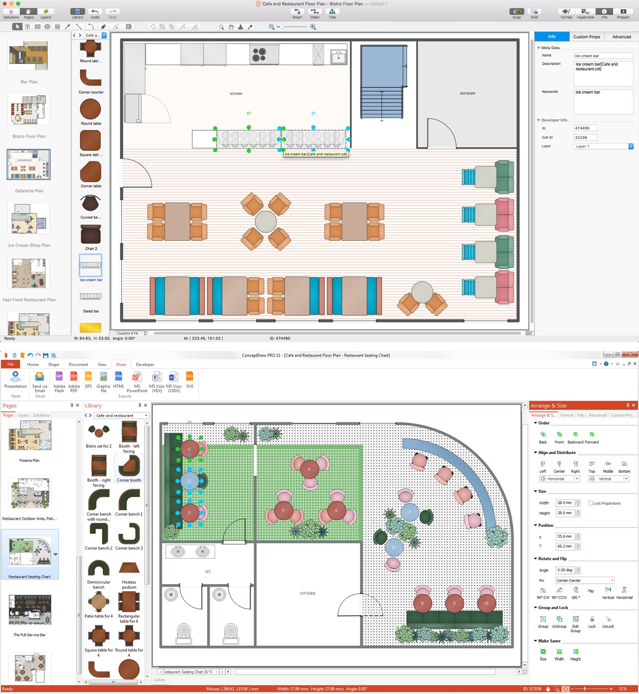 Interior design software building plan examples for House construction plan
