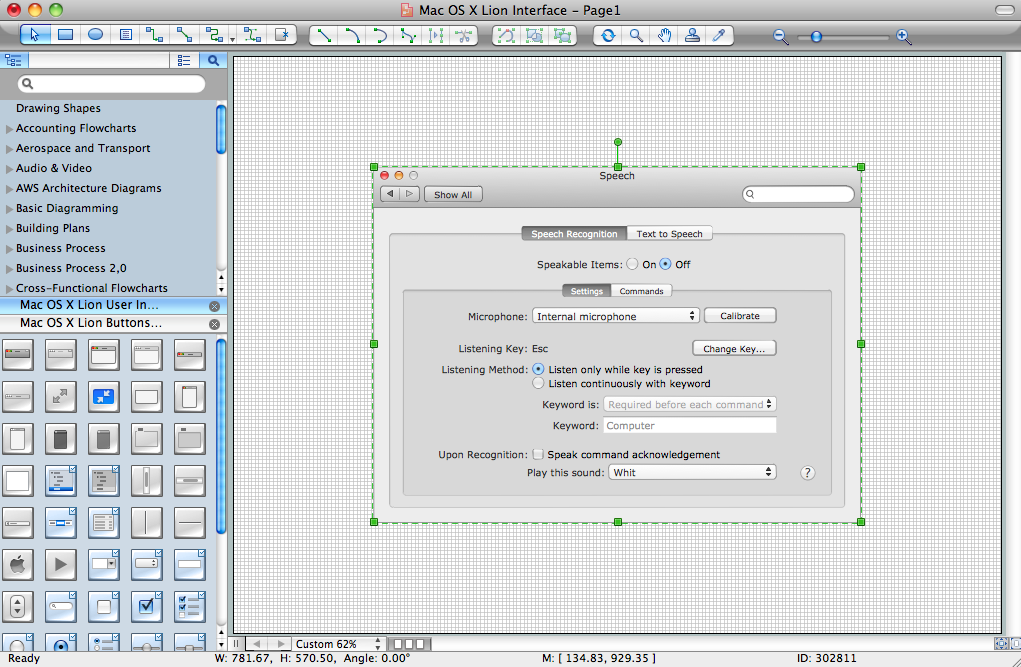 Conceptdraw for software and database design mac interface sample ccuart Images