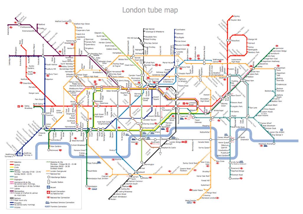Metro Path Map