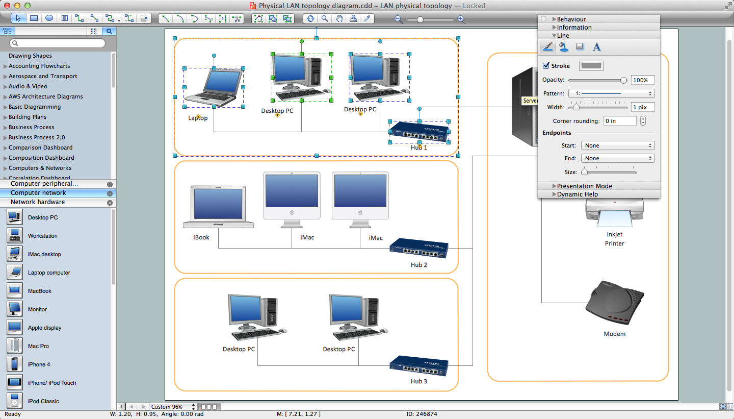 network layout floor plans   design elements   network layout    network diagram software for mac os x and windows