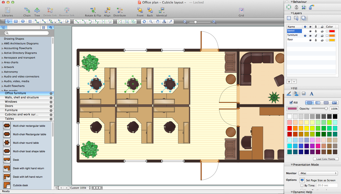 Office Planning and Building Layout Software *