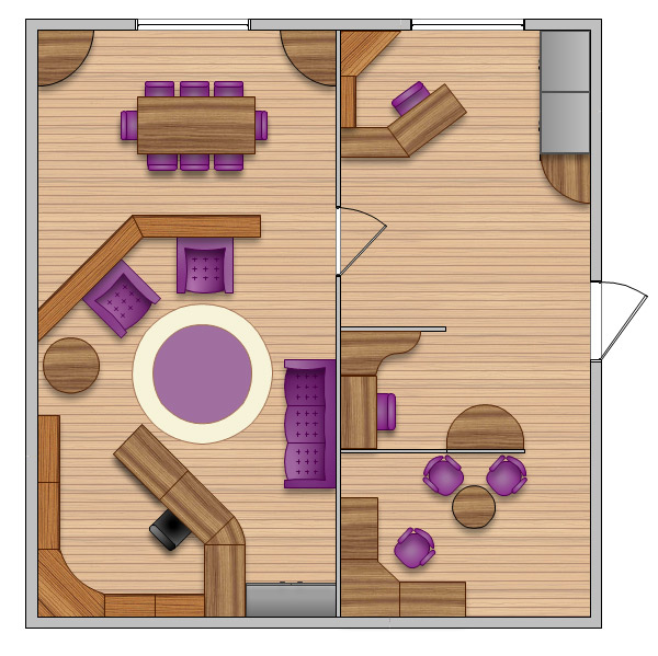 Office layout plans office layout interior design for Office design furniture layout