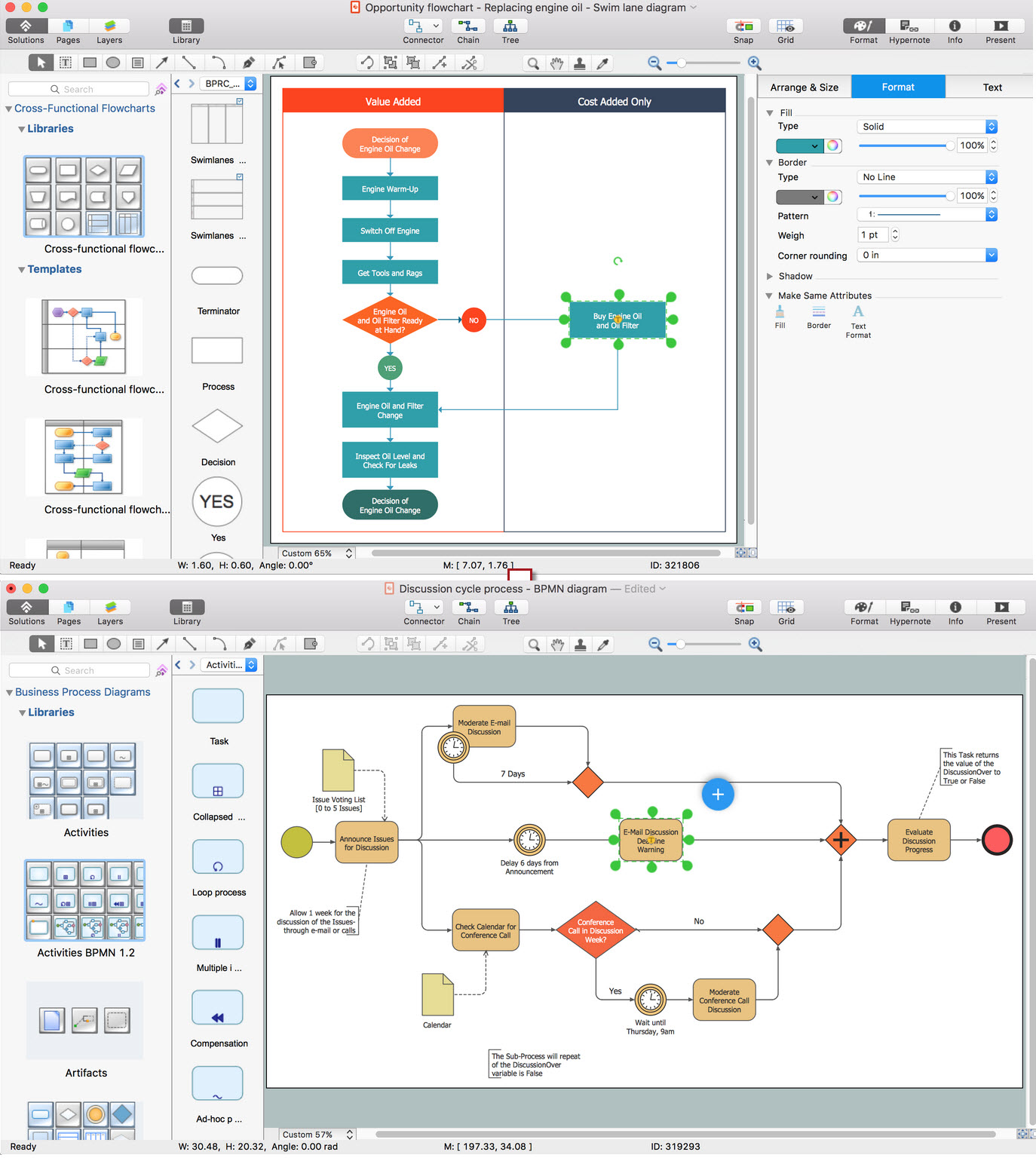 Process Flow Diagram Images For Mac Free Wiring You Business App Trial Pc Rh Conceptdraw Com Manufacturing