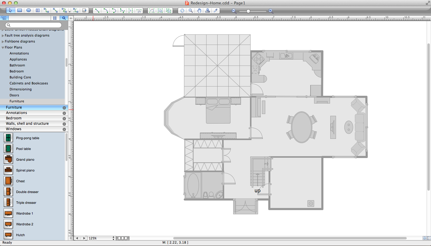 Home remodeling software House drawing plan layout