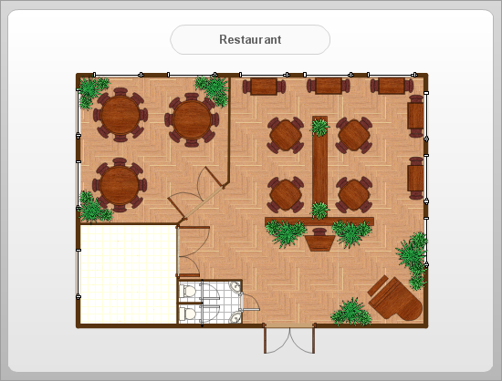 Restaurant Floor Plans Software | Design your restaurant and