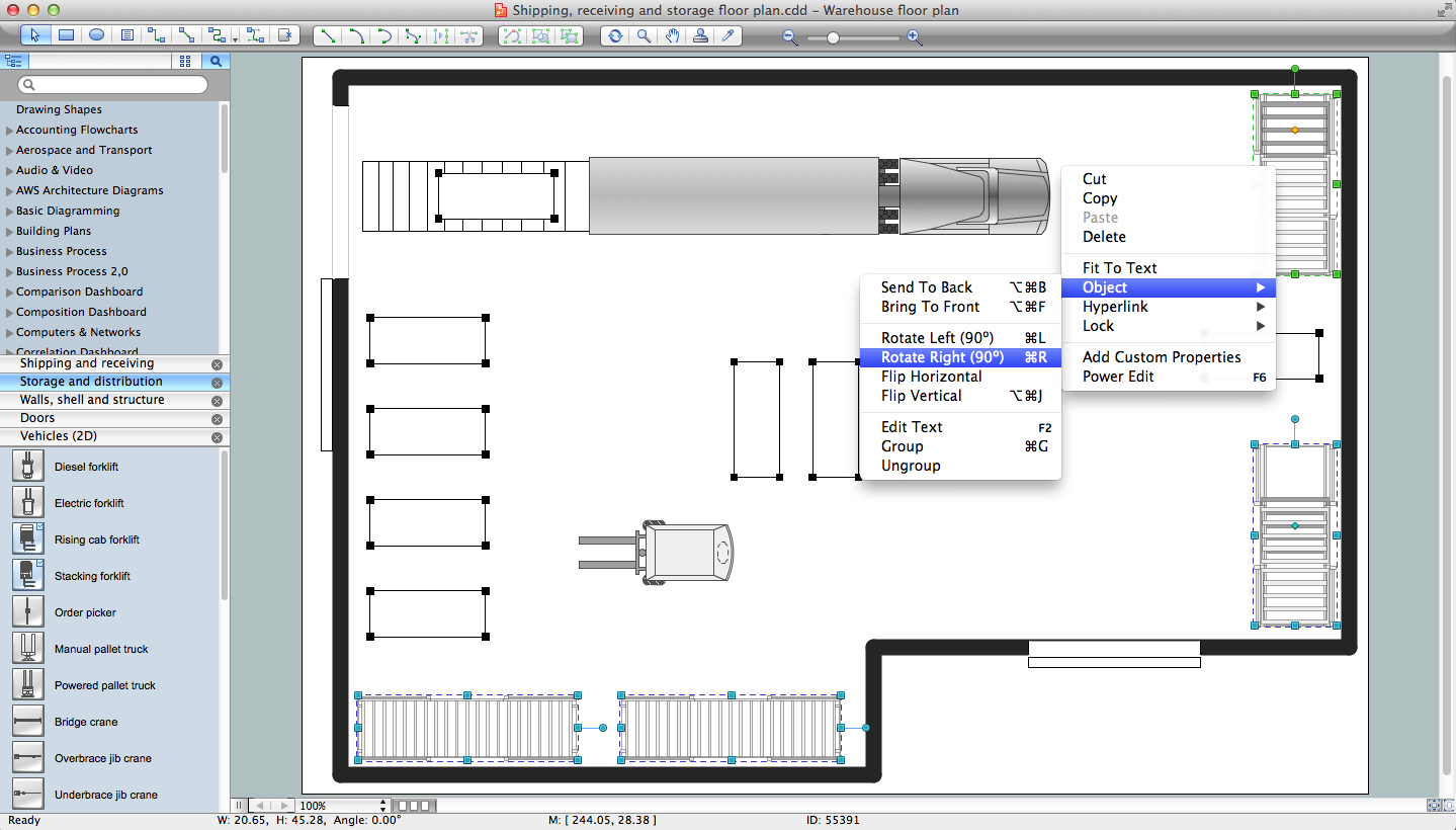 Building drawing software for design office layout plan for Blueprint drawing program