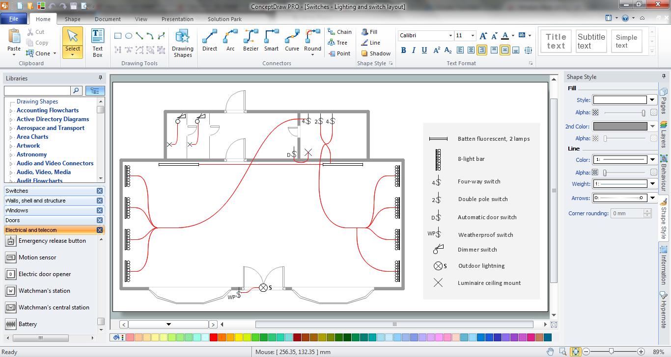 electrical and telecom plan software | electric and ... electrical plan program electrical plan for house #11
