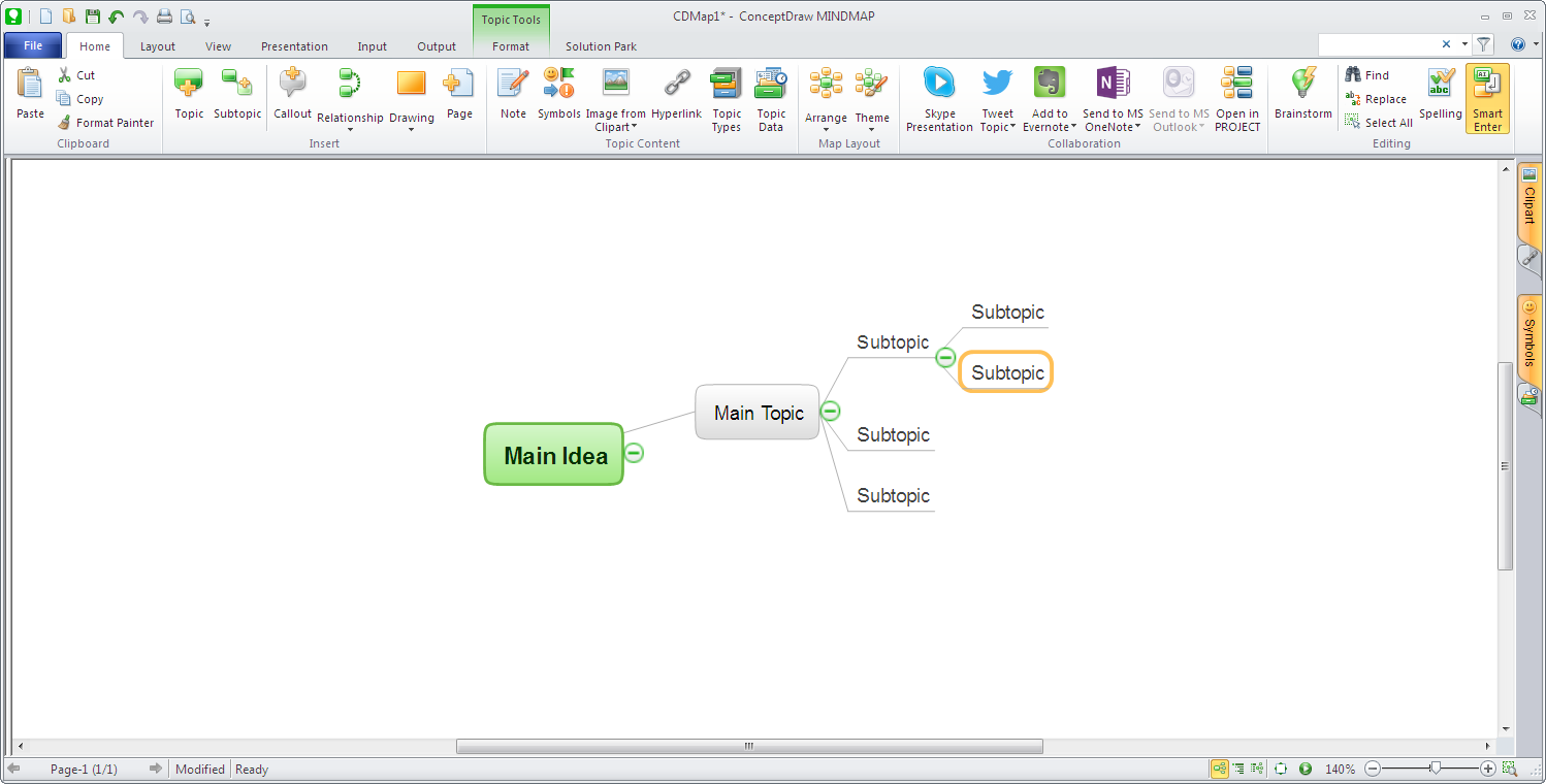 Click to view ConceptDraw MINDMAP screenshots