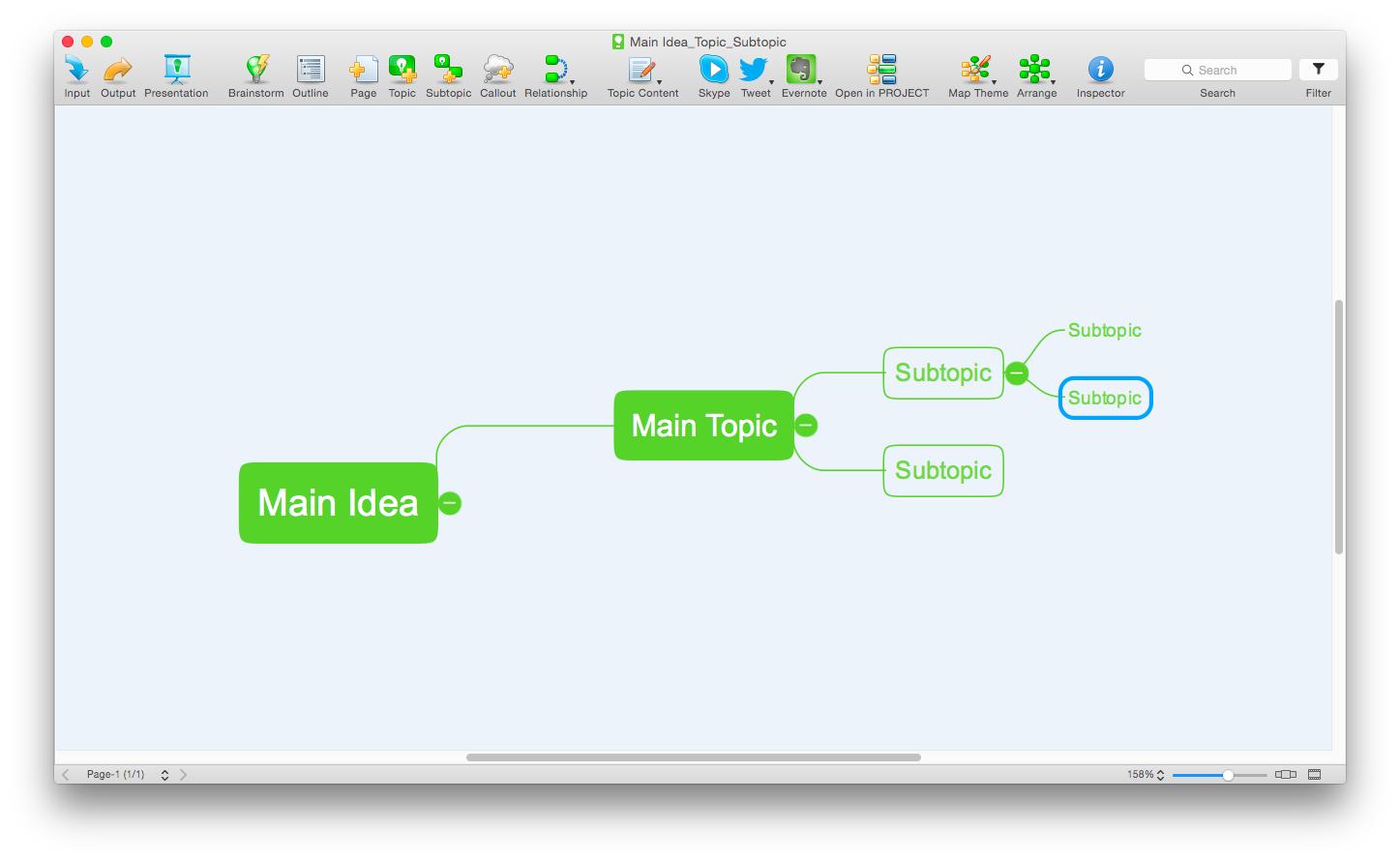 draw mind map on mac