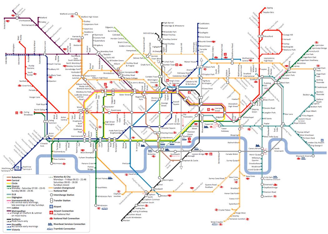 Metro Map *