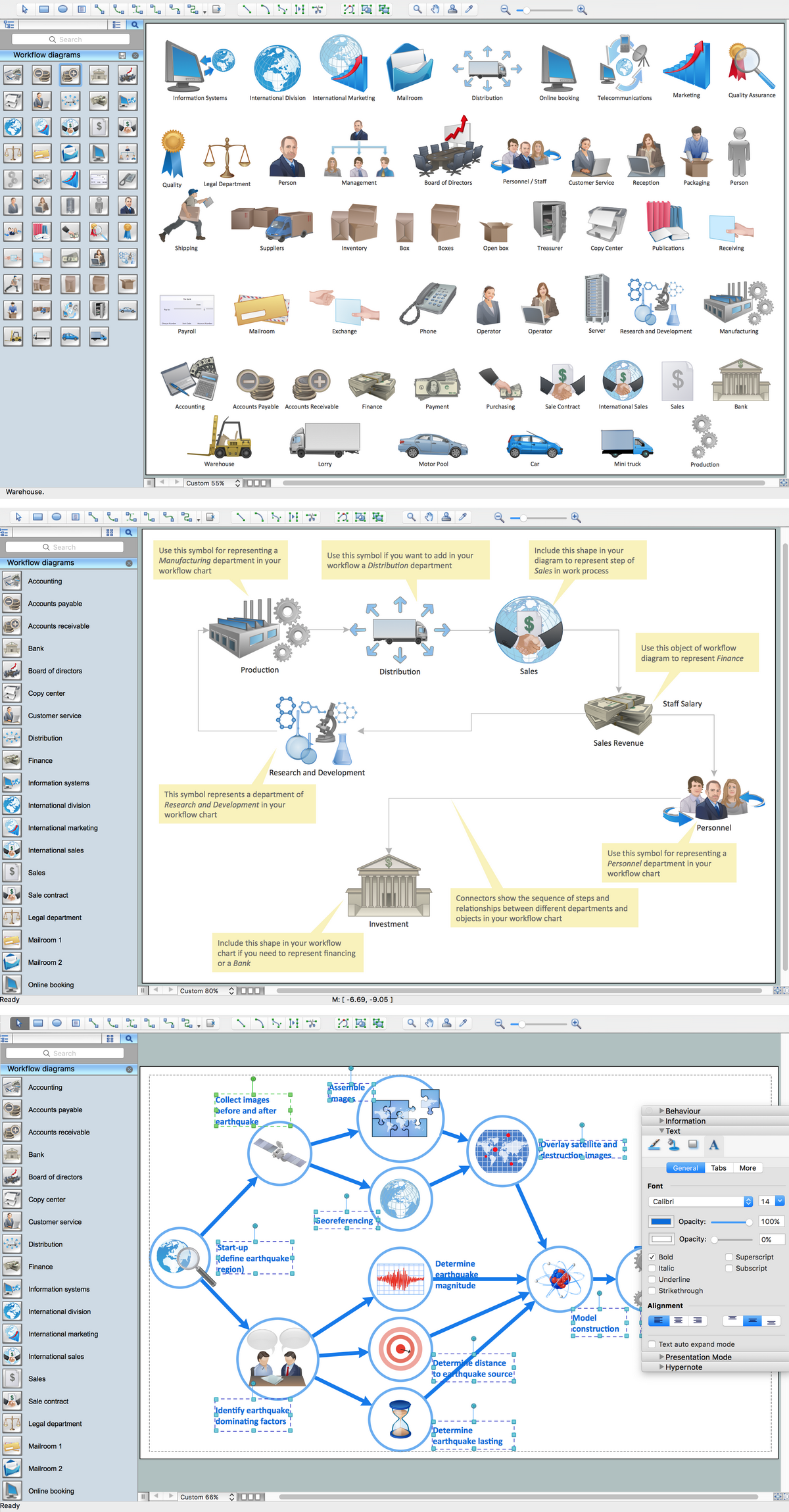 Workflow Diagram Software Mac OS X