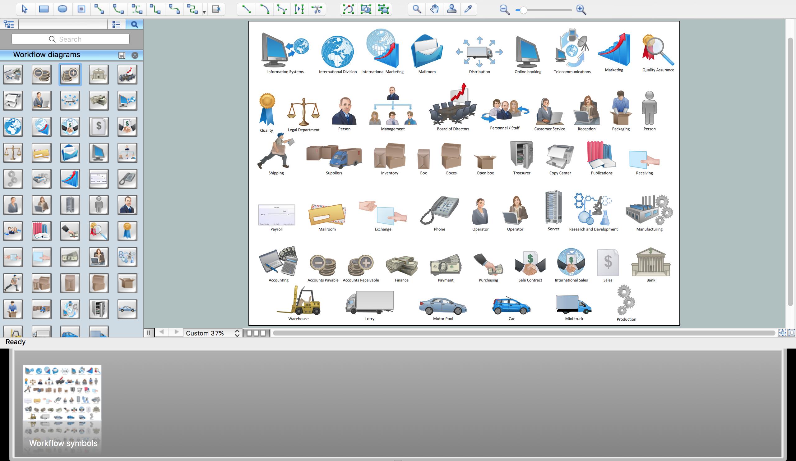 Workflow Flowchart Symbols *