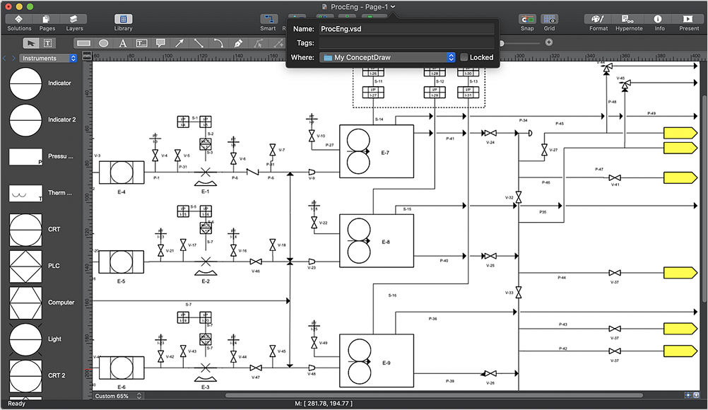 In Search of an Alternative to MS Visio for Mac