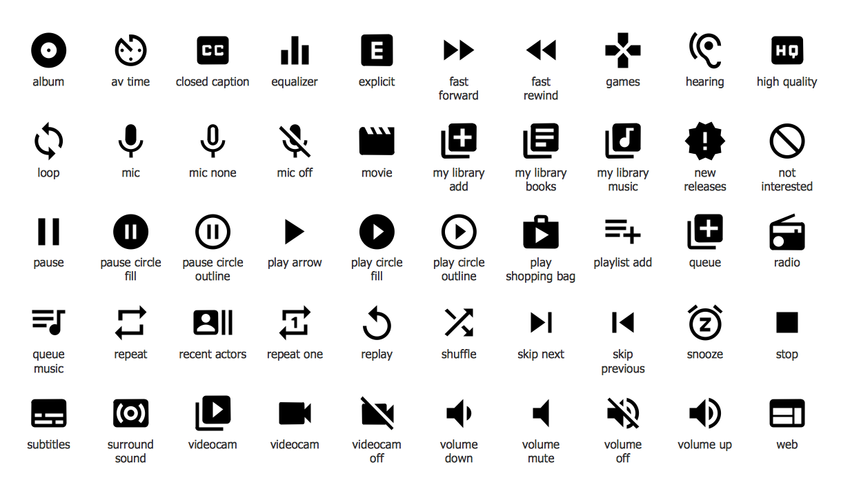 Android System Icons (av)