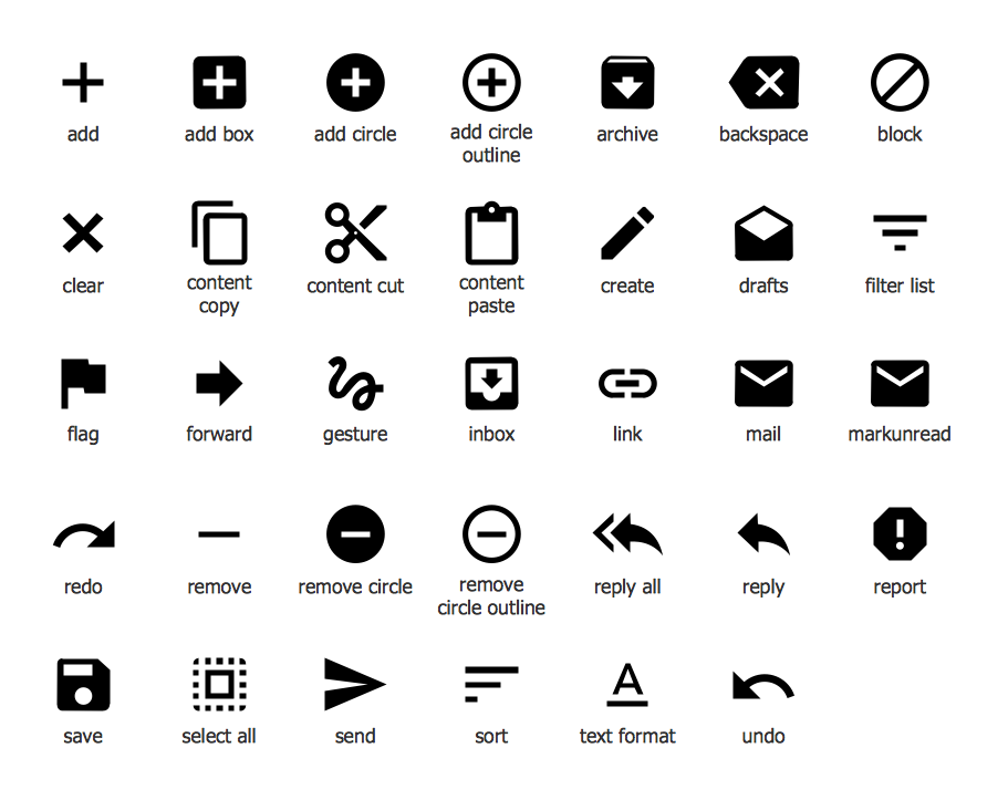 Android System Icons (content)