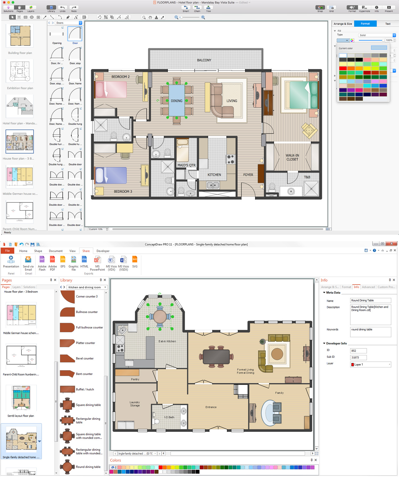 How To Use Appliances Symbols For Building Plan How To Create Restaurant Floor Plan In Minutes Restaurant Floor Plan Software Kitchen Symbols For Floor Plans