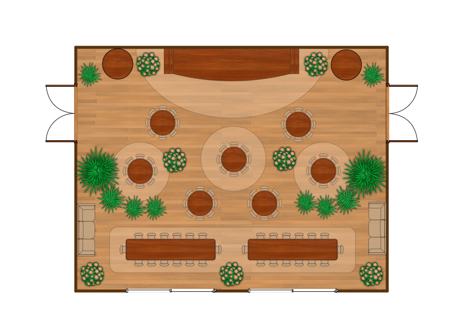 Banquet Hall Plan