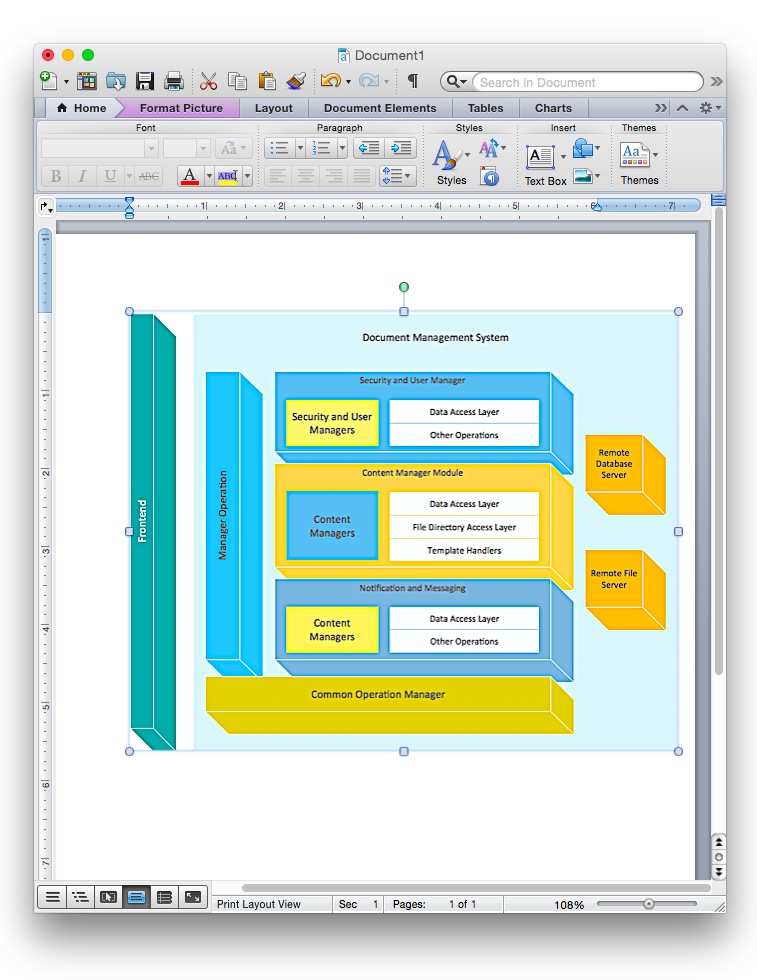 How to add a block diagram to a ms word document using conceptdraw how to add a block diagram to a ms word document using conceptdraw pro ccuart Image collections