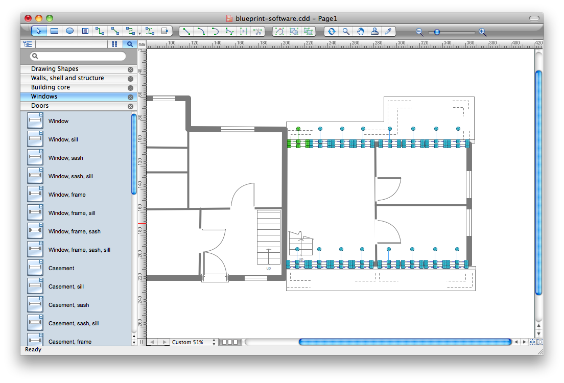 Emergency plan create great looking emergency plan easily with blueprint software malvernweather Images