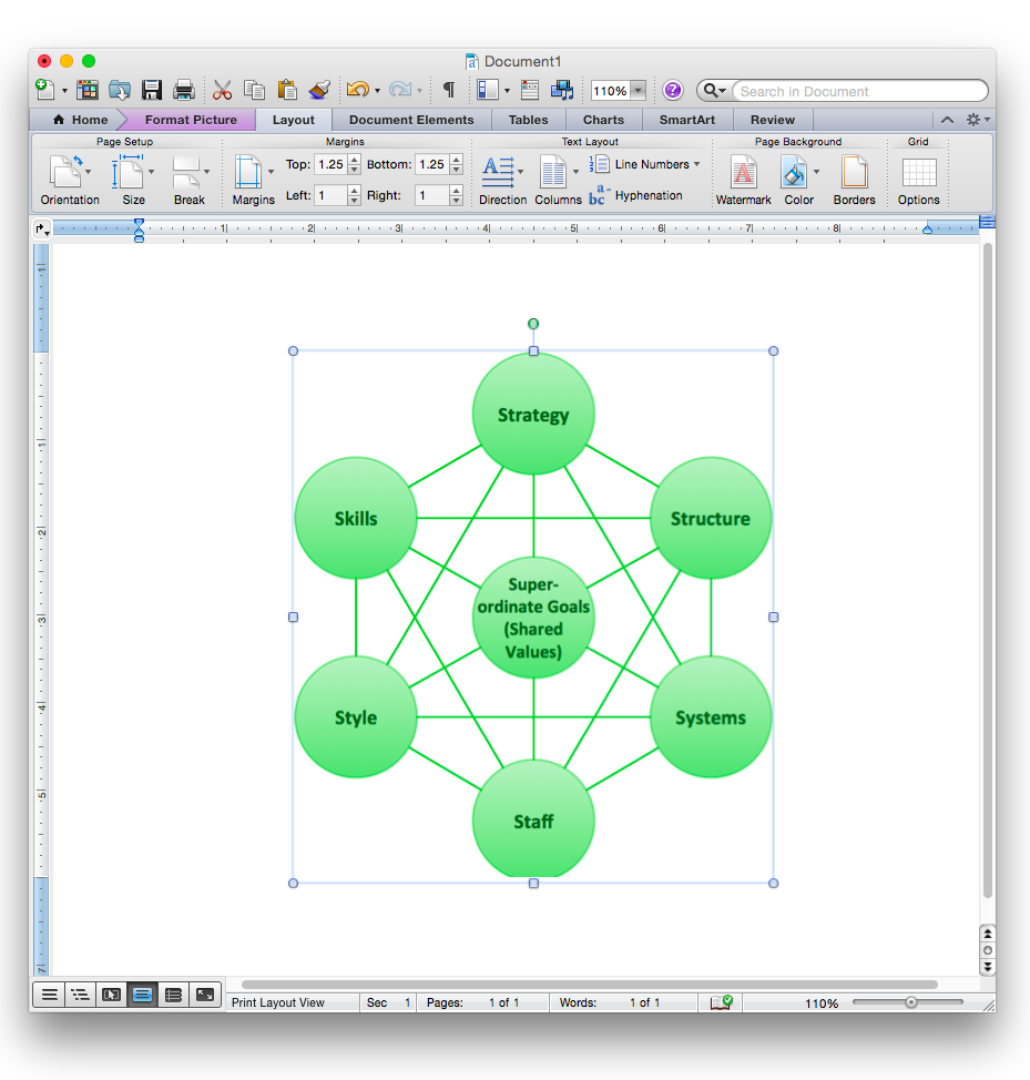 How To Add A Network Diagram To A Ms Word Document Using Conceptdraw Pro How To Add A Wireless Network Diagram To A Ms Word Document Using Conceptdraw Pro How