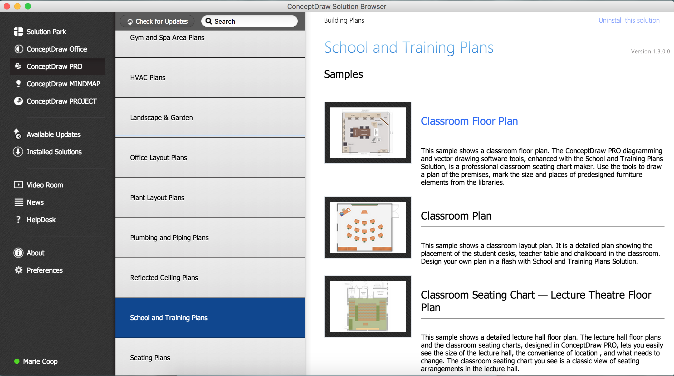 Design Element School Layout Professional Building Drawing Creating A Block Diagram Conceptdraw Helpdesk And Training
