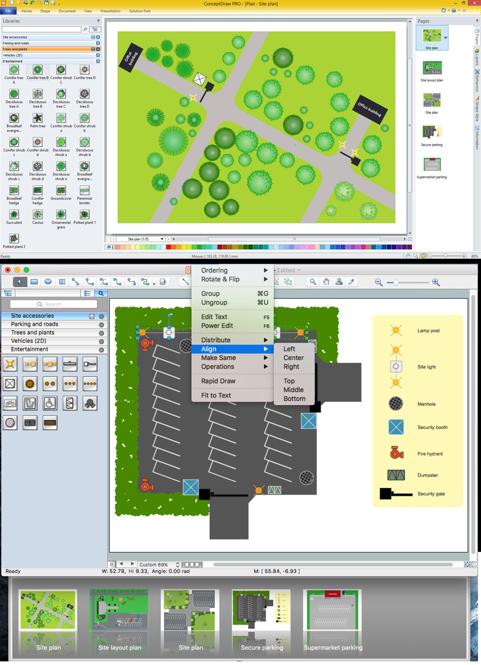Design Element: Site Plan | Professional Building Drawing
