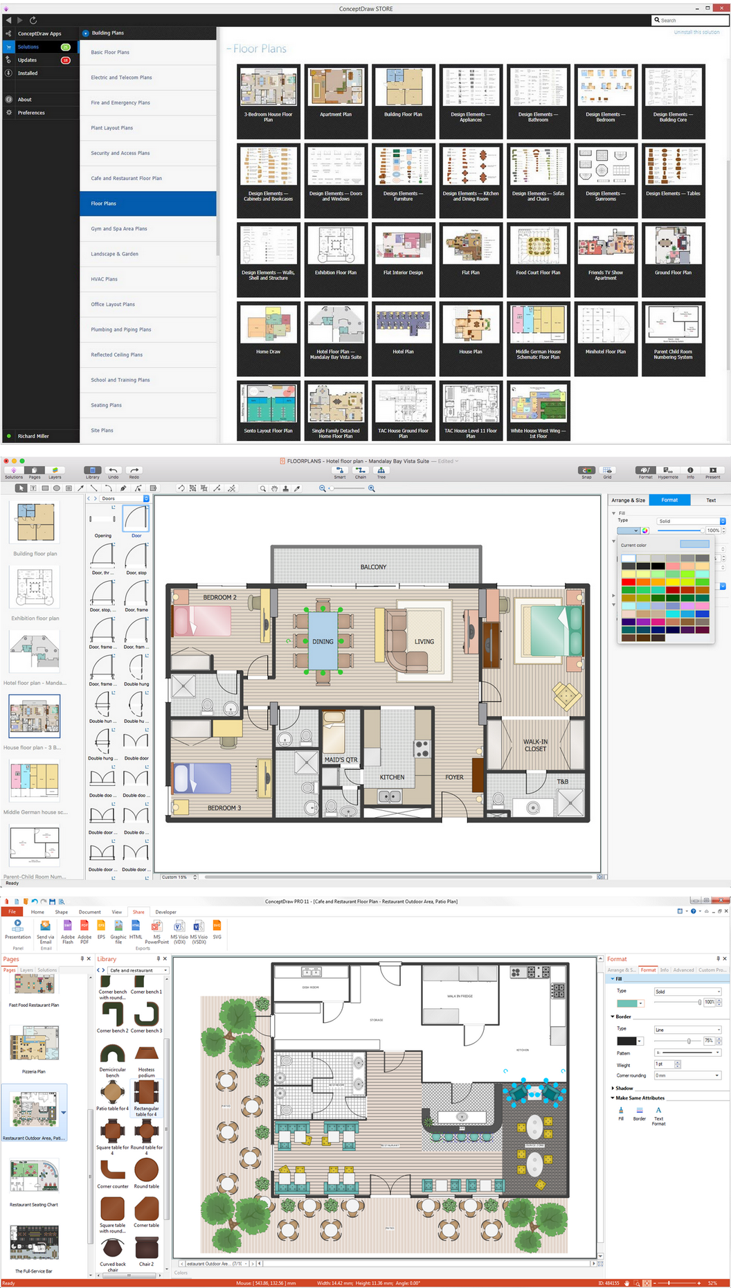 Building Plans with ConceptDraw DIAGRAM