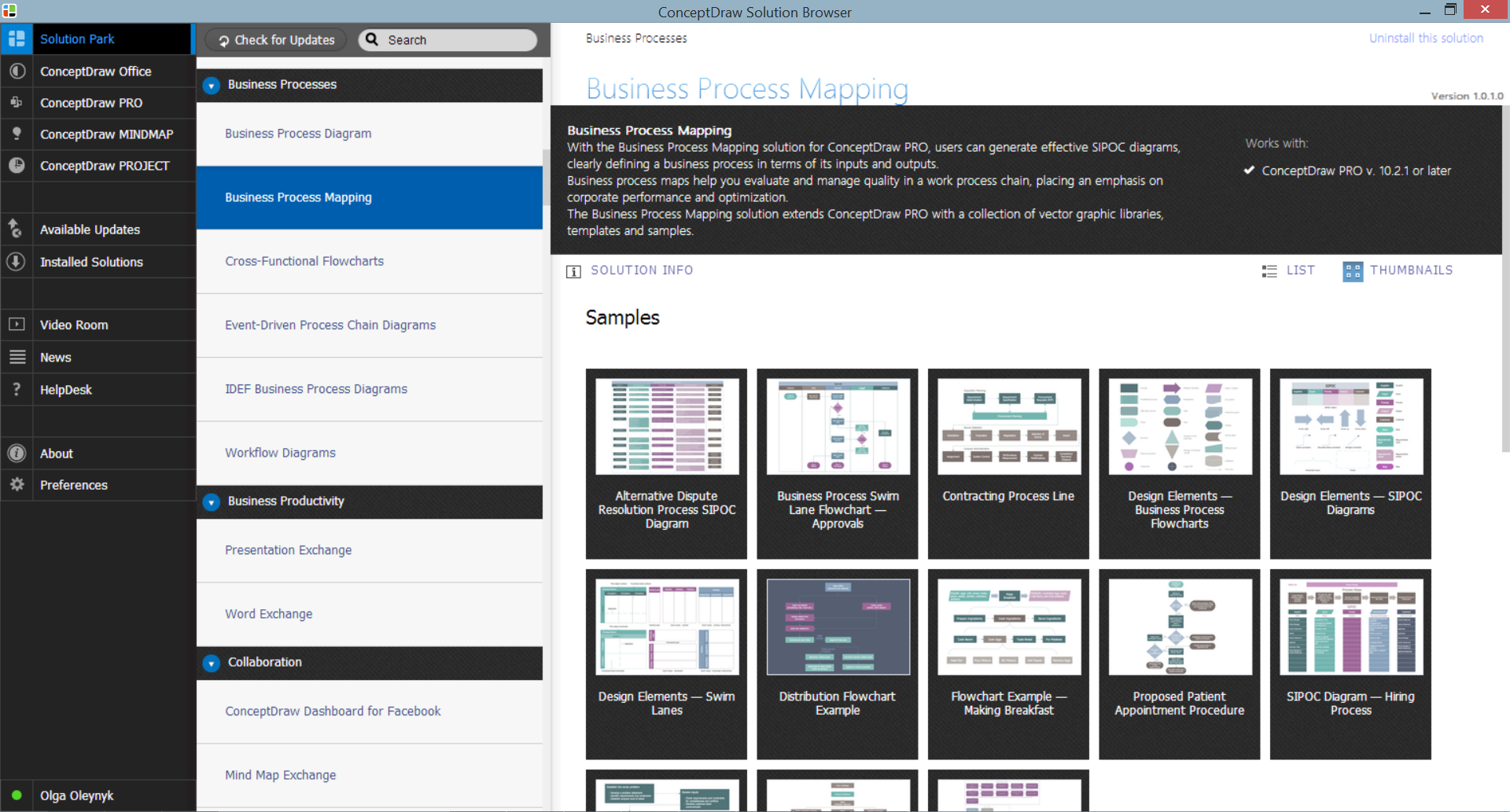 Business Process Mapping Solution in ConceptDraw STORE