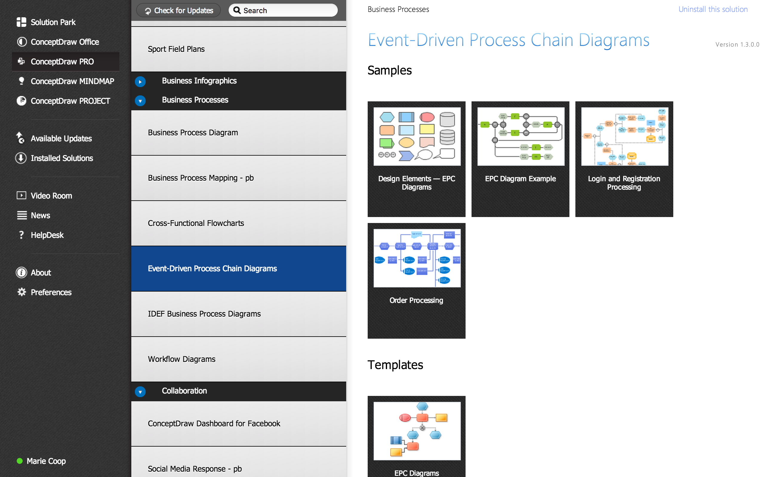 business process flow chart   event driven process chain  epc    event driven process chain  epc  solution
