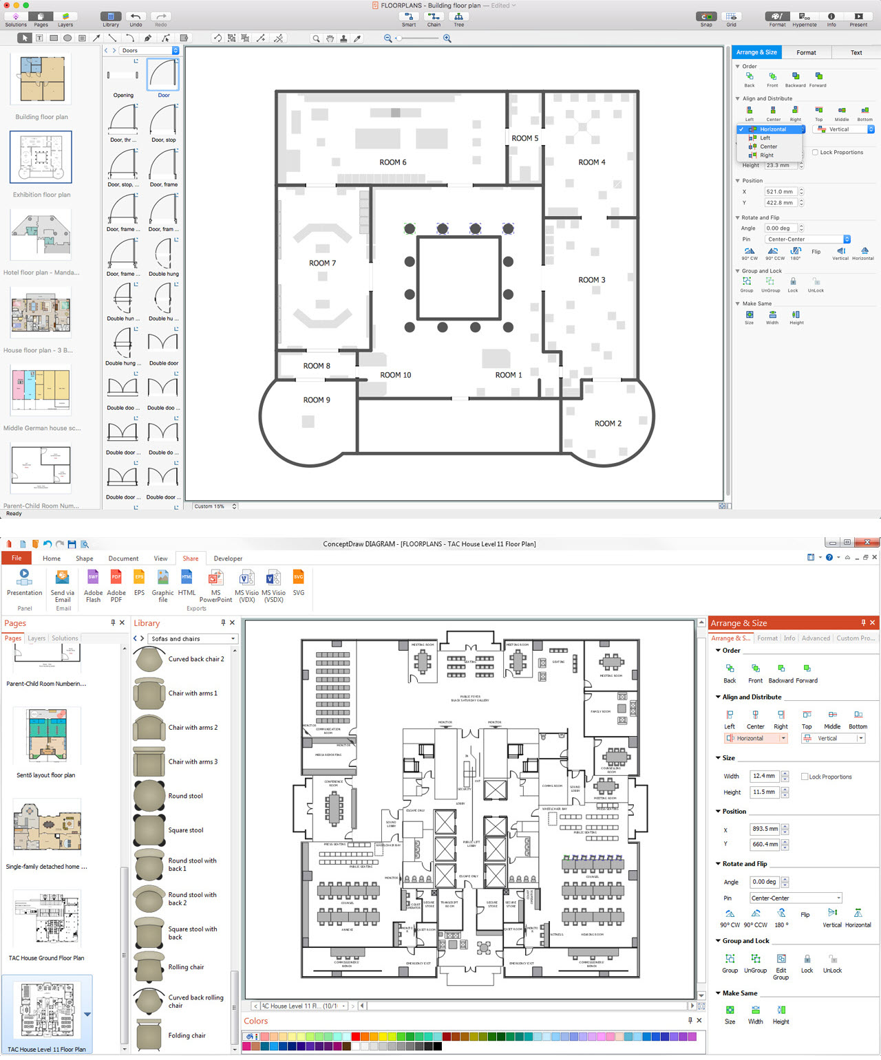 CAD Drawing Software for Architectural Designs