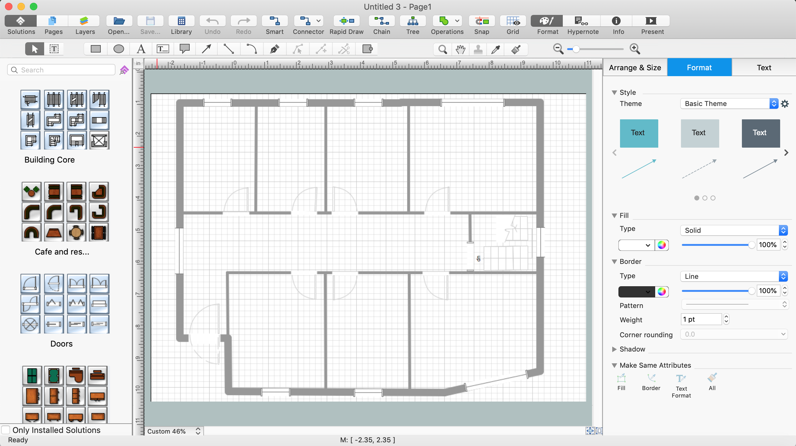 Cad software for architectural designs for Simple architectural drawing software