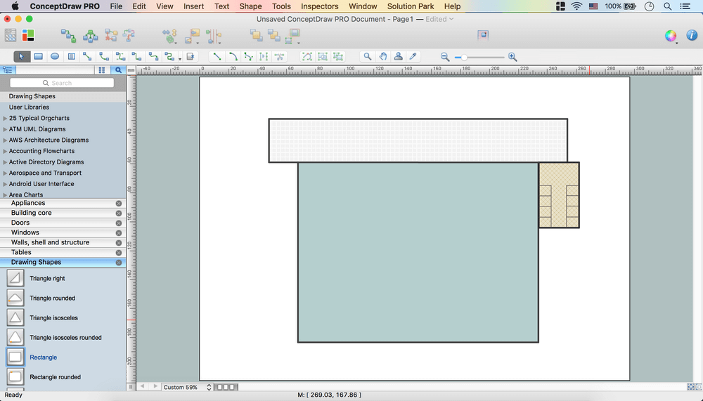building drawing how to create a cafe and restaurant floor plan