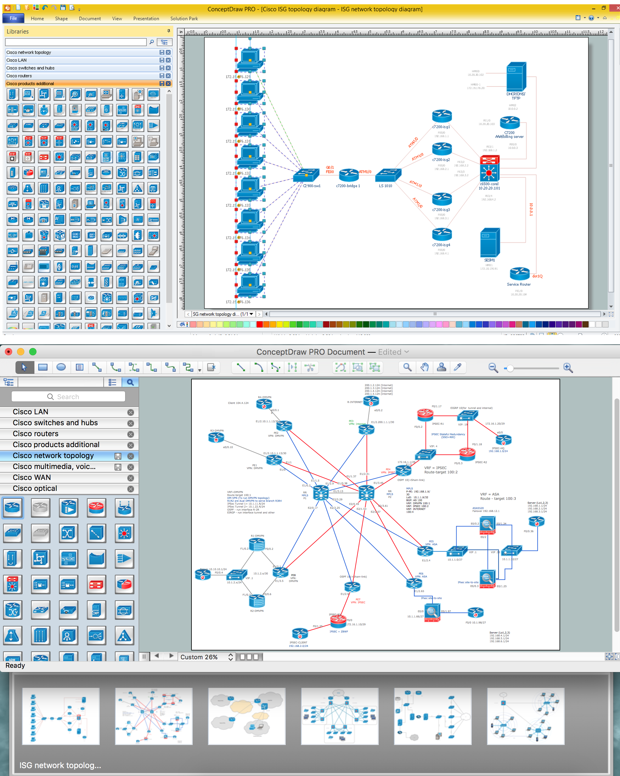 Network documentation series: port mapping regarding data mapping.