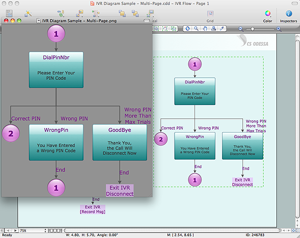 Export of ConceptDraw document to Graphic file