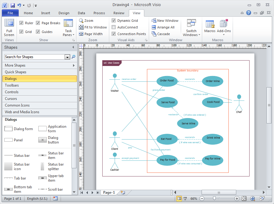 How to Convert ConceptDraw DIAGRAM v12 file into <nobr>MS Visio 2003-2010 format</nobr> *