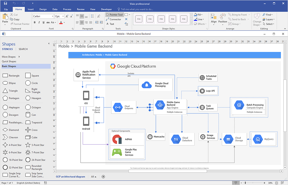 How to Convert ConceptDraw DIAGRAM v12 file into <nobr>MS Visio 2013 - 2016 format</nobr> *