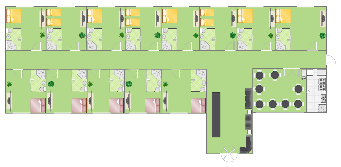 Create a Floor Plan - Hotel Plan