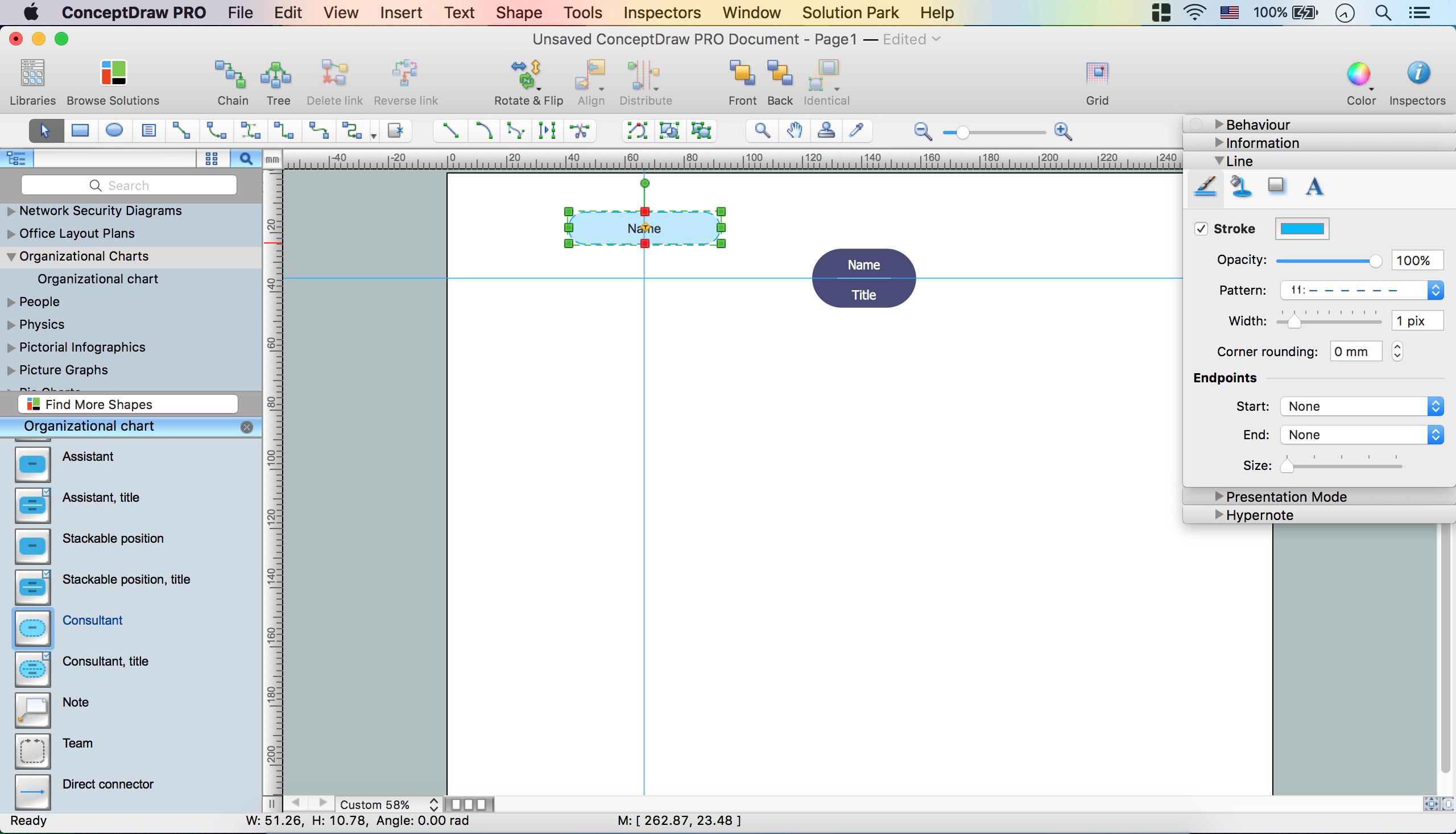 Create Organizational Chart