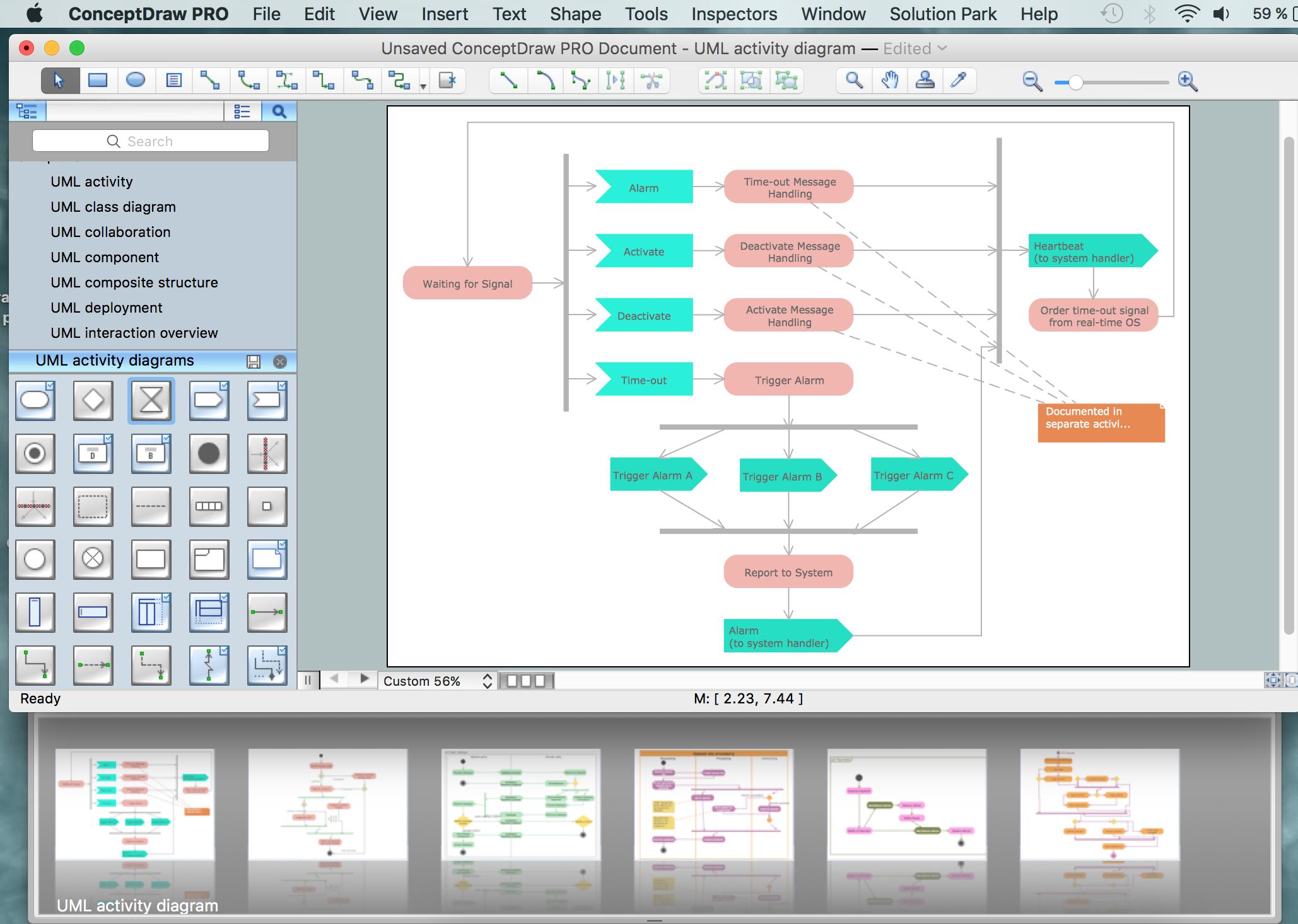 Uml Activity Diagram Design Of The Diagrams Business Graphics Block Generator Control System Elements