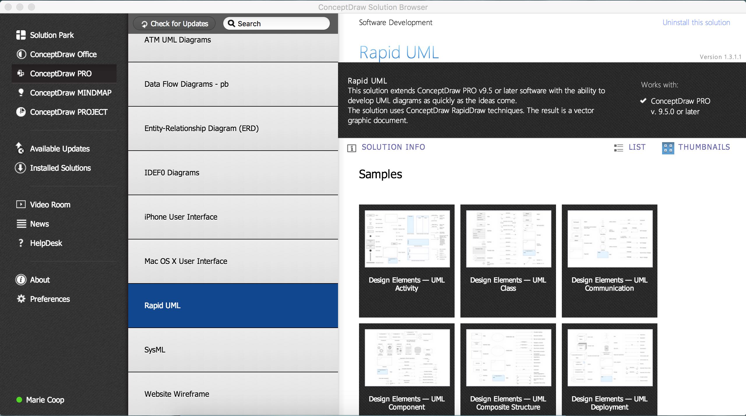 UML Component diagram solution